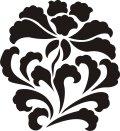 ステンシルシート 花ー5