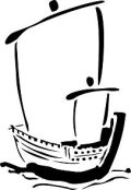 ステンシルシート 帆かけ舟