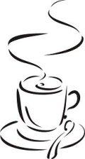 ステンシルシート コーヒー