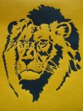 型紙 ライオン